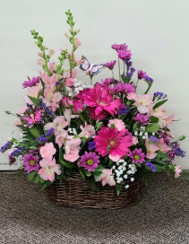 Blossoming Summer Garden FHF-M03 (Local Delivery) Fresh Flower Arrangement (Local Delivery Only)