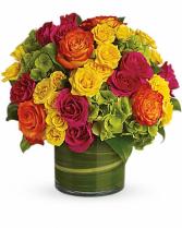 Blossoms In Vogue Arrangement