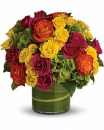Blossoms in Vogue Bouquet