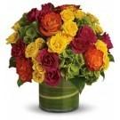 Blossoms in Vogue Vase Arrangement
