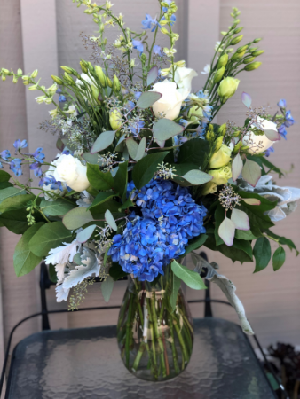 Blue And White Delight Tall and Showy