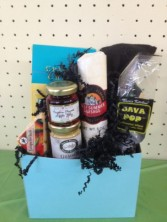 Blue Bash Gift/Gourmet Basket