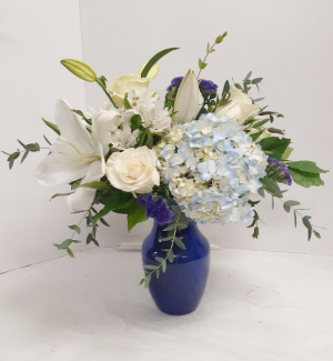 Blue Beauty  in Tottenham, ON | TOTTENHAM FLOWERS & GIFTS