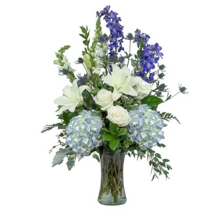 Blue Beauty Arrangement