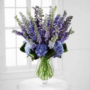 Blue Bliss  in Teaneck, NJ | Teaneck Flower Shop (A.A.A.A.A.)