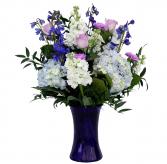 Blue Bliss  Vase Arrangement