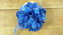 Blue Bliss Wrist Corsage Prom