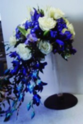 Blue Bomb wedding