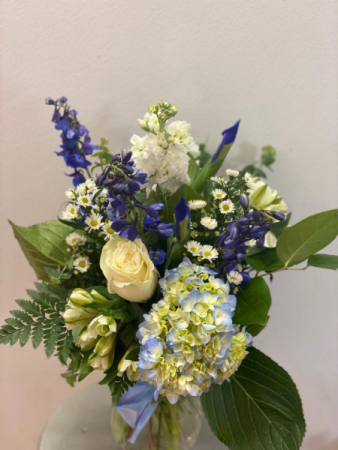Blue Bonnet Vase