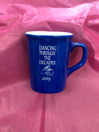 Blue Dance mug Engraved especially for you