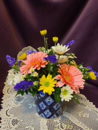 Blue Elegance Mother's Day