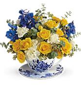 English Teatime Floral Bouquet