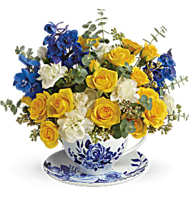 English Teatime Floral Bouquet