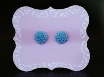 BLUE FLOWER EARRINGS Gift Item