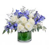 Blue Frost Centerpiece