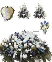 Blue Funeral Premium 1 Package