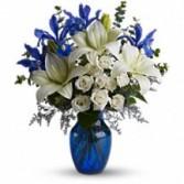 Blue & Grand Floral Bouquet