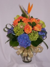 BLUE HAWAII - Florists Prince George BC:   AMAPOLA BLOSSOMS   Prince George Roses   Prince George BC Flowers