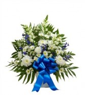 Blue Heaven Sympathy Arrangement
