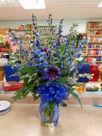 Blue Jean Baby Vase In Bryson City Nc Village Florist Christian