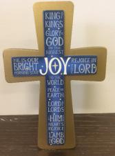 Blue Joy Cross Blue Cross