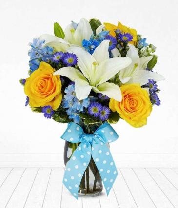 Blue Jude Bouquet