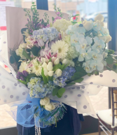 Blue Luxe Bouquet