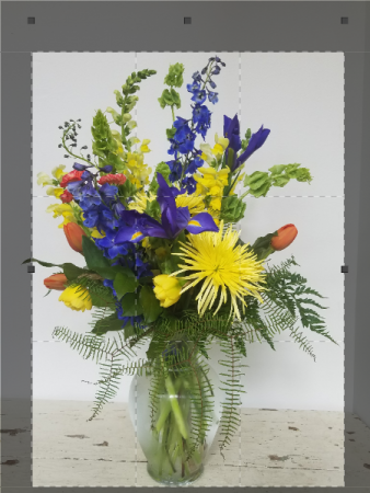 Blue Medley Birthday and All Occasion