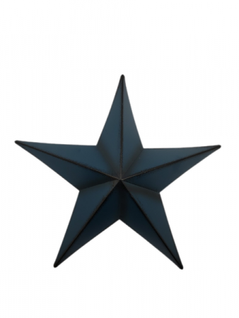Blue Metal Star