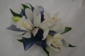 blue nights corsage wrist corsage