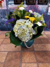 Blue Oceans Vase Arrangement