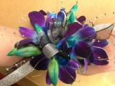 Blue Orchid dream prom flowers