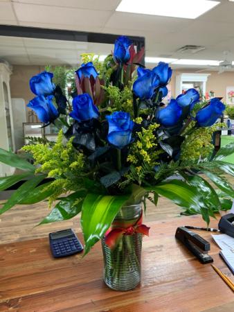 Blue Pleasure Rose