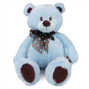 Blue Plush Teddy Bear New Baby in Richland, WA | ARLENE'S FLOWERS AND GIFTS