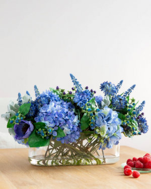 Blue Rhapsody   in Oakville, ON | ANN'S FLOWER BOUTIQUE-Wedding & Event Florist