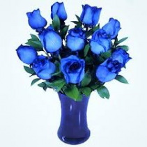 Blue Roses CALL FOR FREE DELIVERY*SOLD OUT*