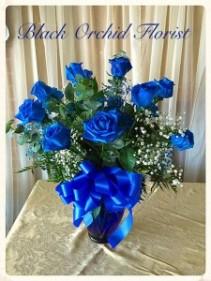 Blue Roses Roses