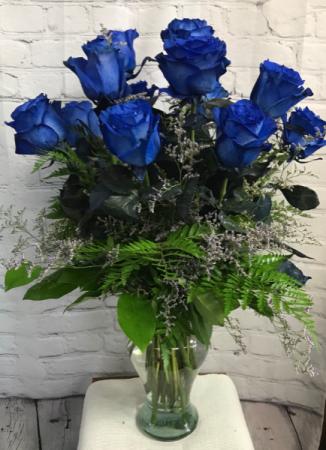 BLUE ROYALTY ROSES