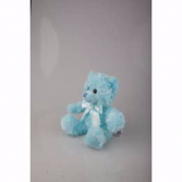 Blue Sitting Bear Plushland