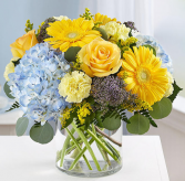 Blue Skies Bouquet Arrangement
