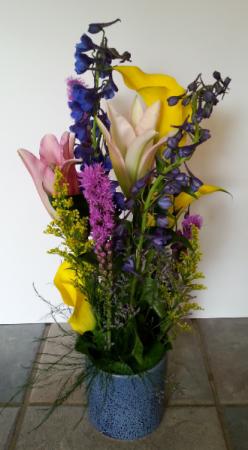 Blue Sky bouquet Linear