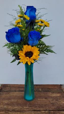 Blue Sunshine Summer Flower Special