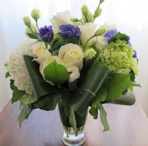 Blue & White Vase Arrangement Vased Arrangement