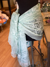 Blue Wrap/Scarf Gift Item