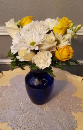 Blue & Yellow Sass