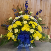 Blue &Yellow Spray