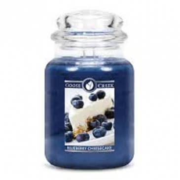 Bluebery Cheesecake Large Jar Candle candle gift