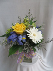 Bluebird Fresh Mixed Vased Arrangement