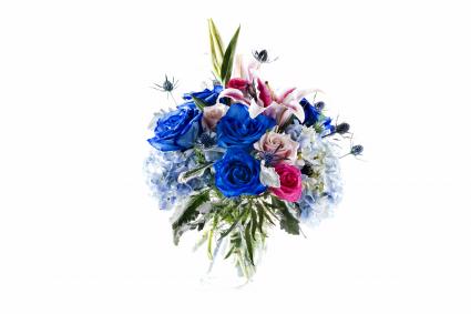 Bluelecious Vase