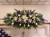 Blues and Whites Memorial  Lid Spray